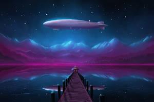 Zeppelin Lake by ShootingStarLogBook
