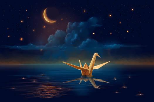 Night Crane