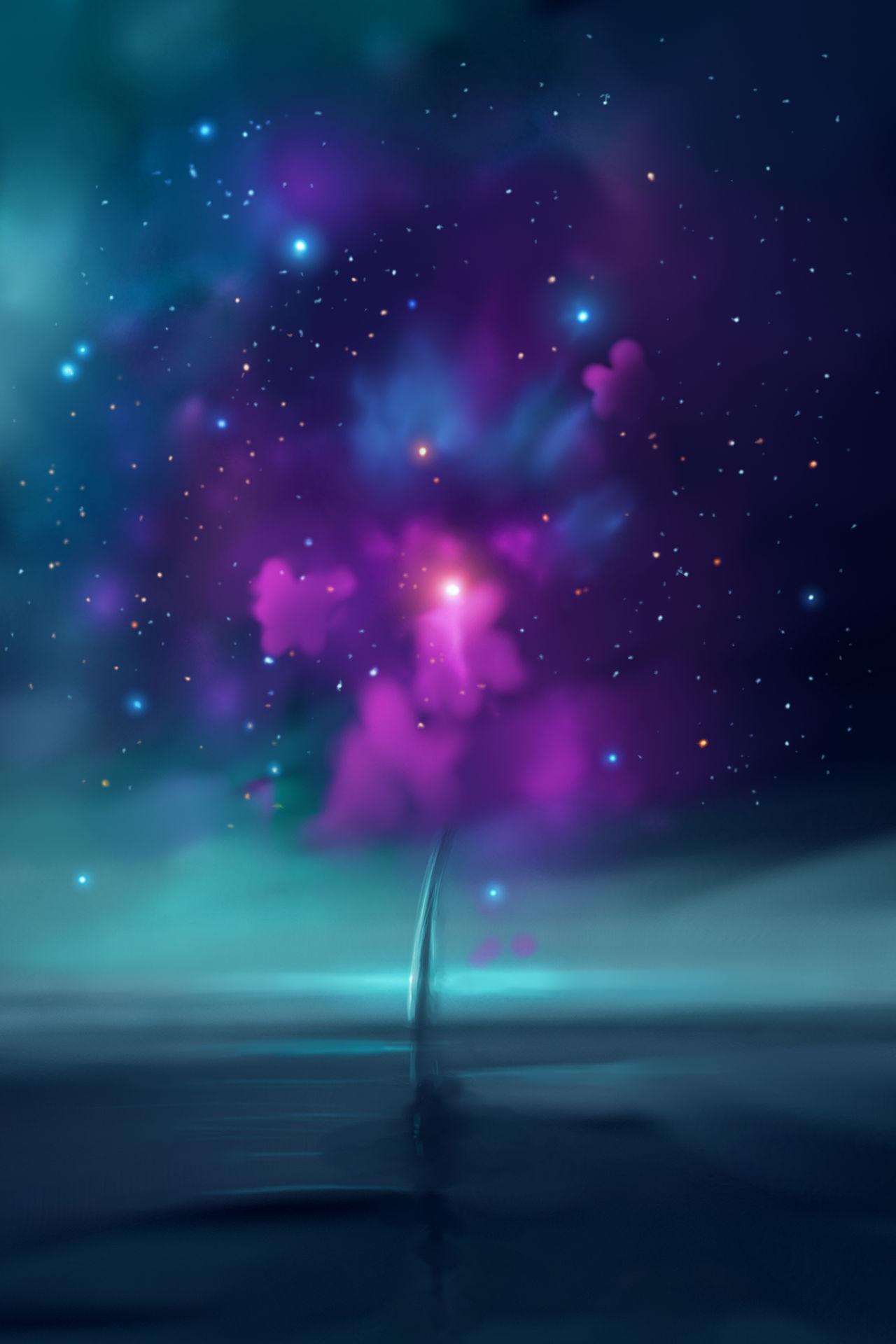 M20 Surreal Trifid Nebula