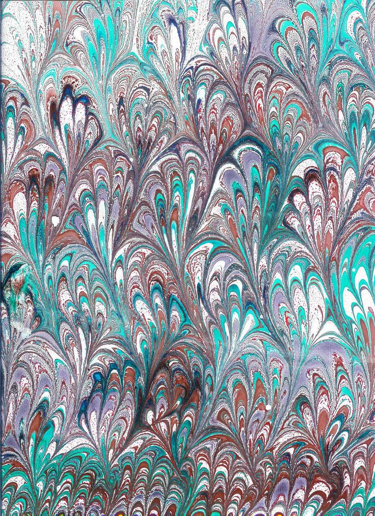Geleneksel Ebru Sanati Calismalari Resimli Anlatim Ebru Sanat� �rnekleri