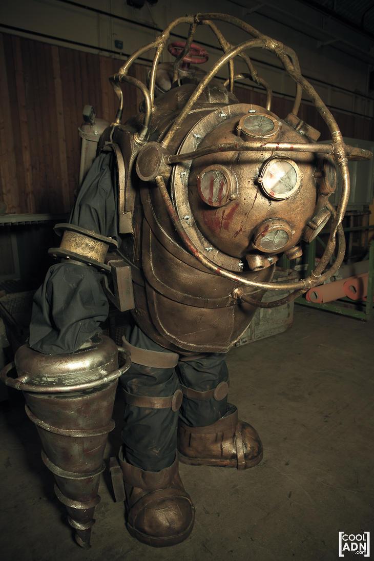 Bioshock 2 - Big Daddy Delta by Adzerak on deviantART