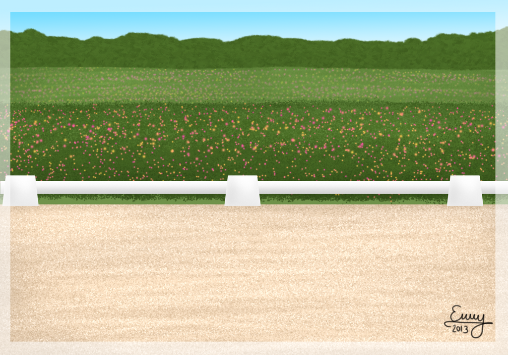 Outdoor Dressage Arena by FamousFox