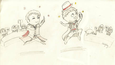 Ballet Class! by sakuramelodysong