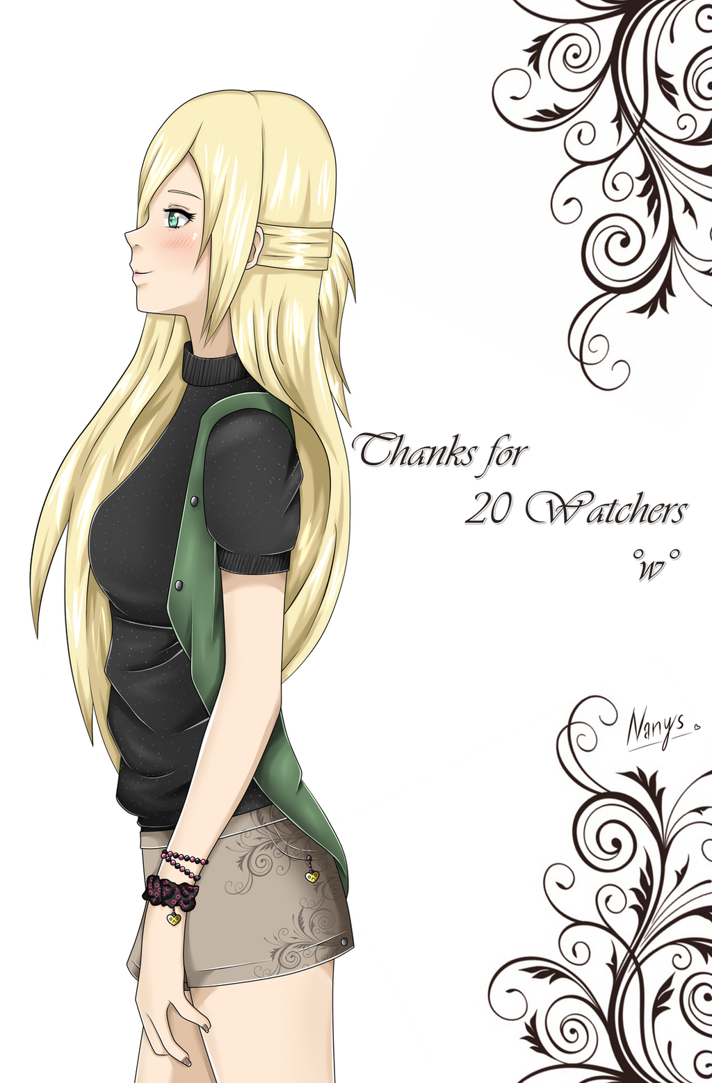 Thanks for 20 watchers by xNanys