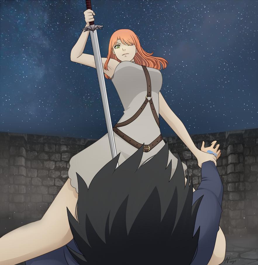 Edolas Fairy Tail - Edolas Mori wants to kill Hiro by xNanys
