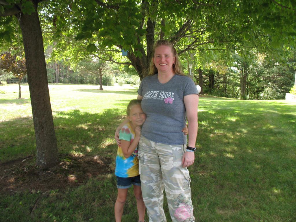 my niece and I by zarra0024