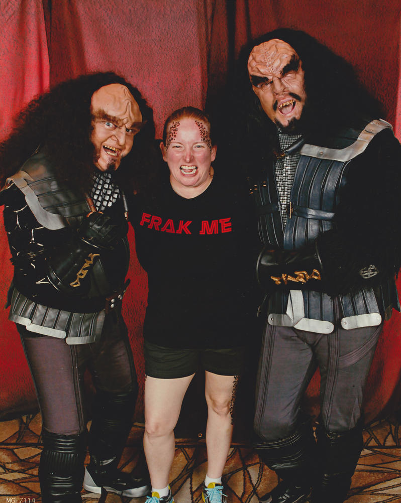 Gowron me and Martok by zarra0024