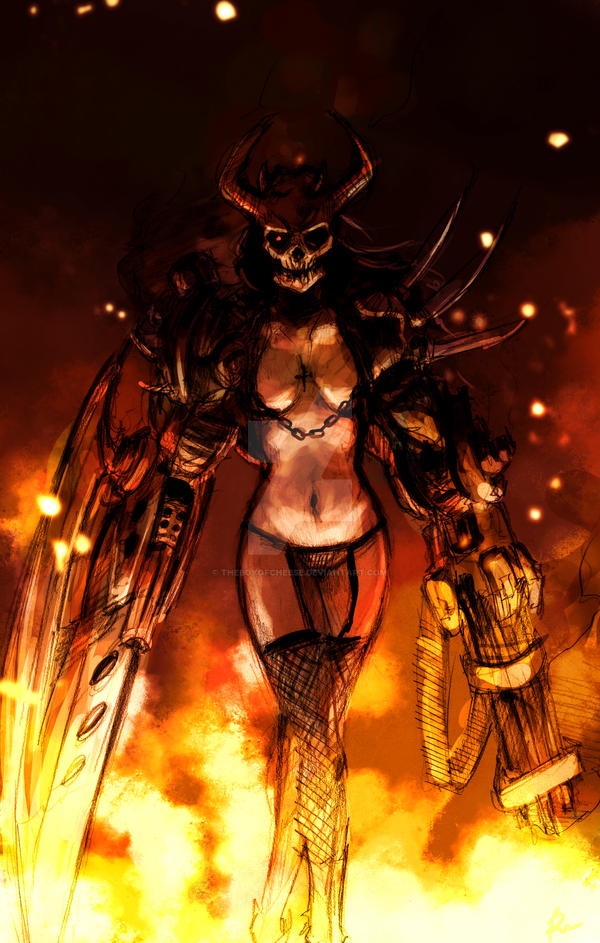 BADASS KICKASS SEXYASS DEMON by TheBoyofCheese
