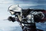 Ezio SPEED KILL by TheBoyofCheese