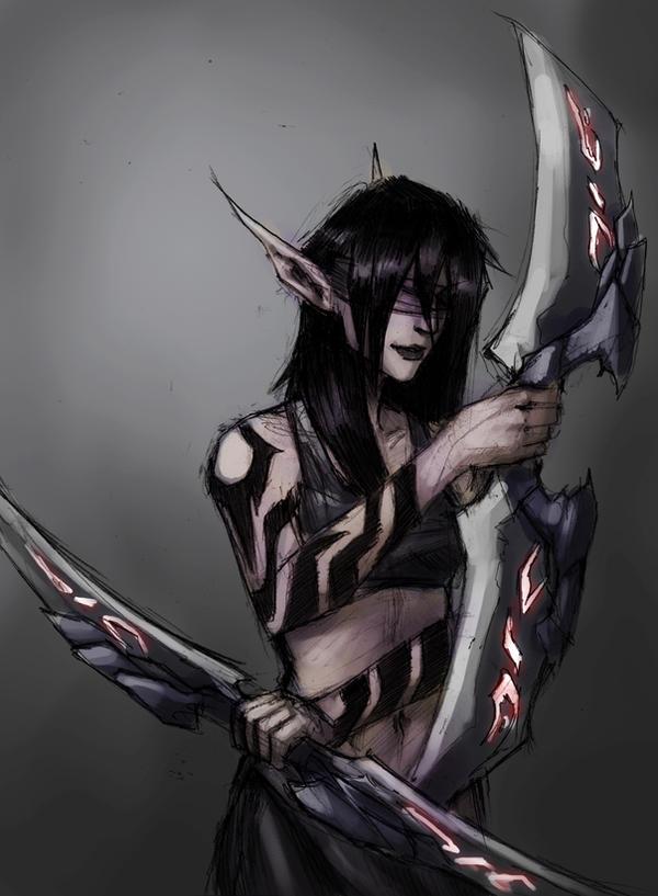 blood elf demon hunter