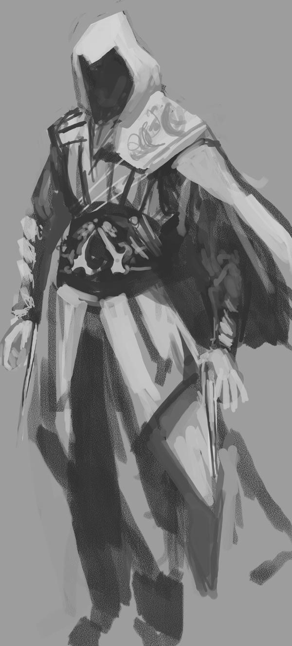 Speedpainting Ezio by TheBoyofCheese