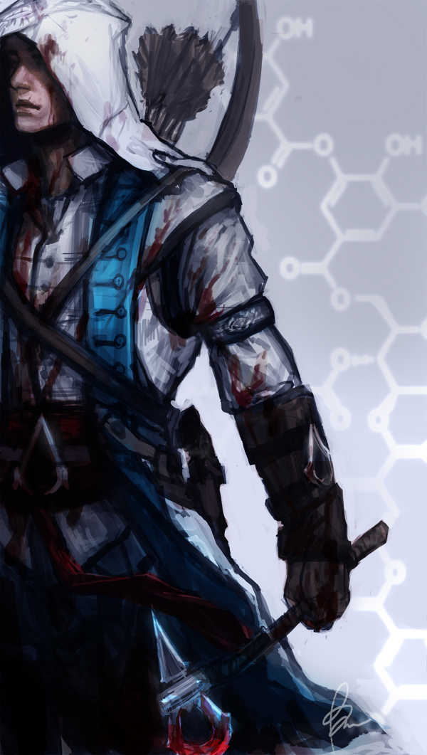 Connor - Assassin's Creed III by TheBoyofCheese
