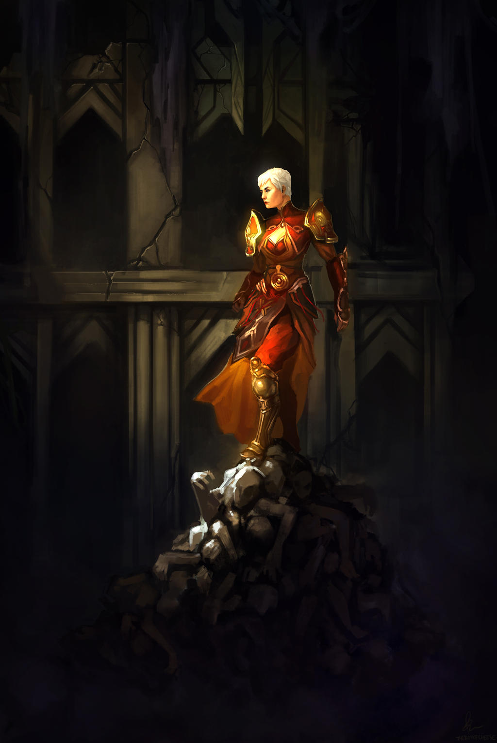 Monk Diablo 3 by TheBoyofCheese