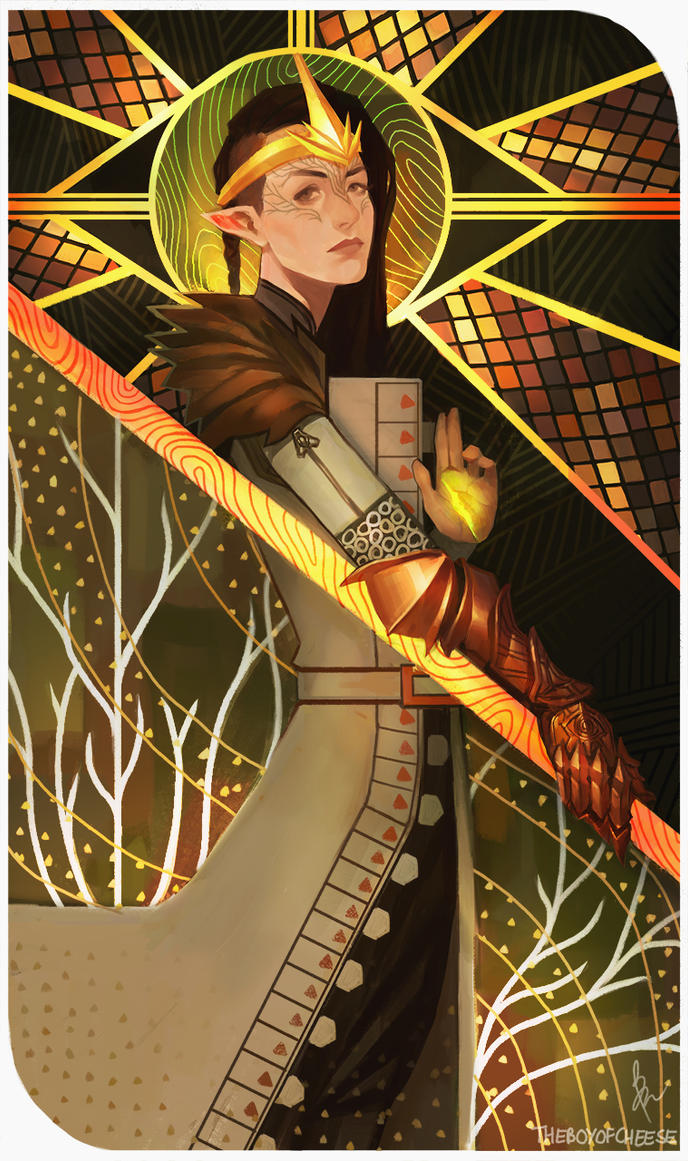 Inquisitor Lavellan by TheBoyofCheese