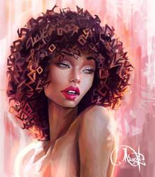 Portrait Aphrodite Vanity by Mesrile