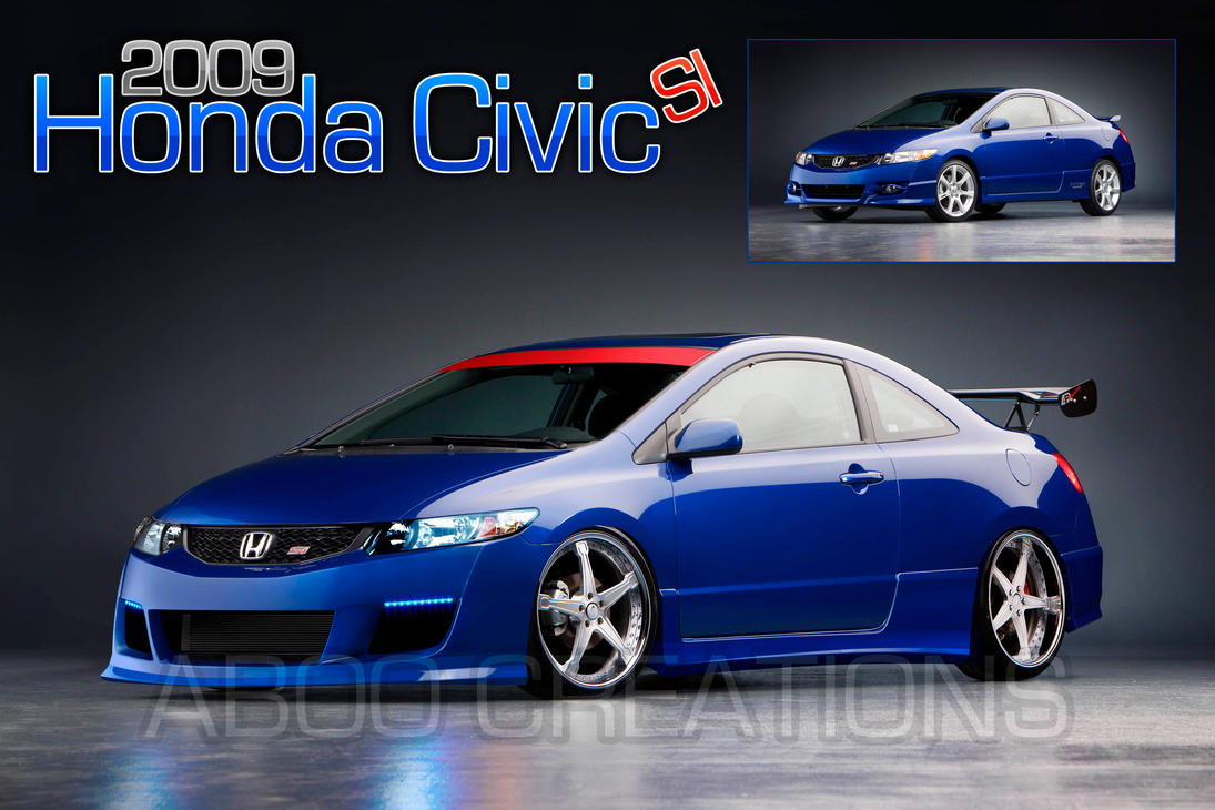 Delightful Honda Civic Si Coupe  09   WIP By Aboo Designs ...