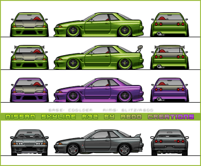 Nissan  Skyline R32 by aboo-designs