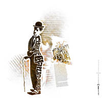 Charlie Chaplin by inankilic