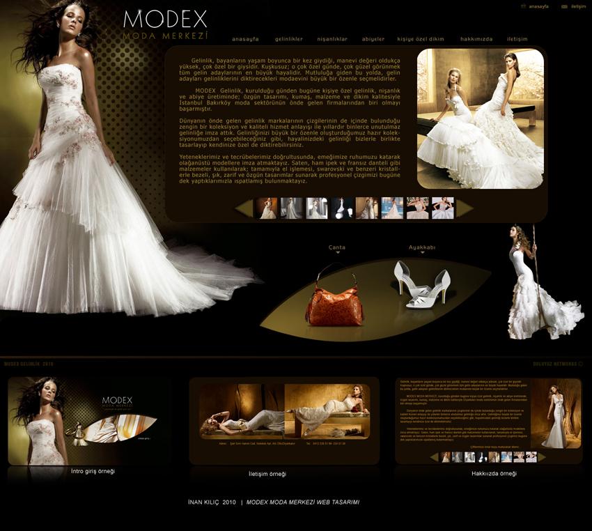 Modex Moda Merkezi Web Tasar�m