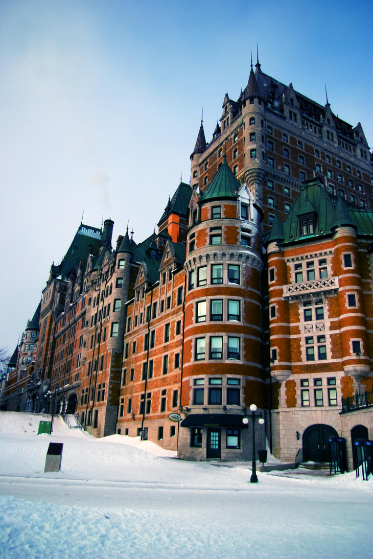 Chateau Frontenac by Ennev