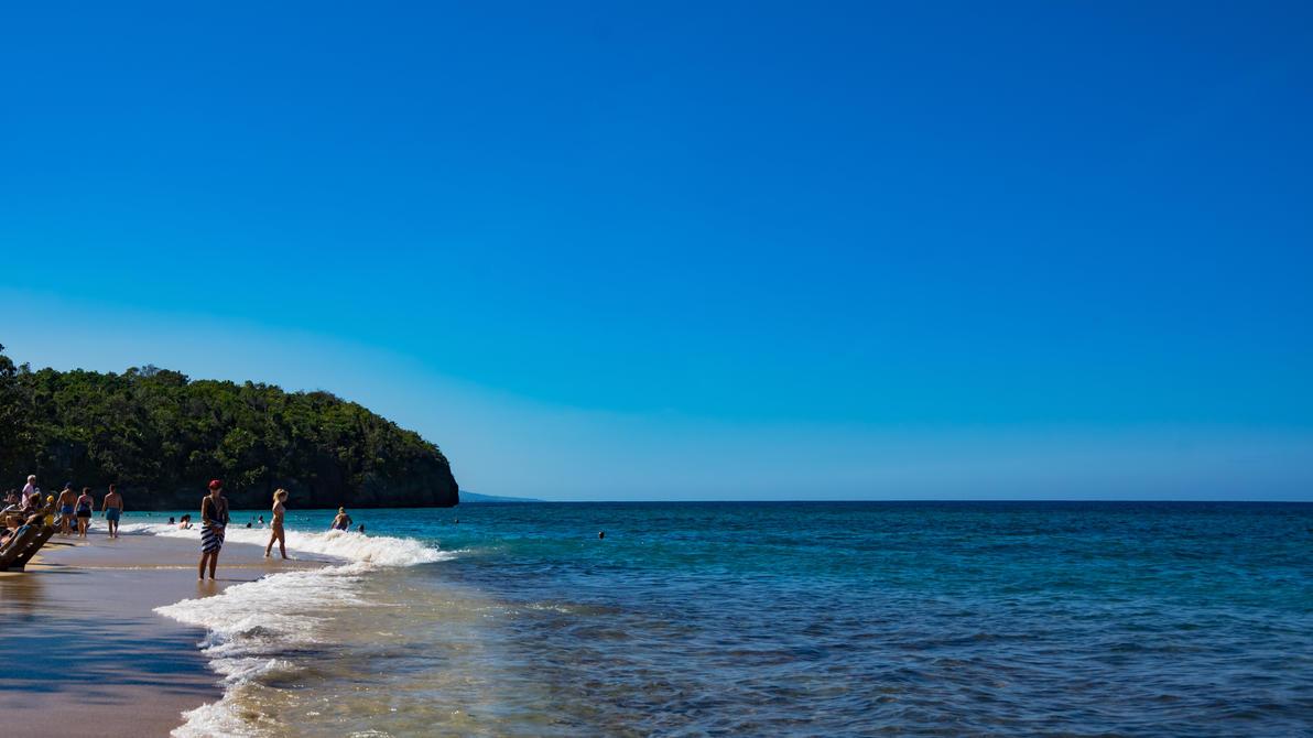 Jamaican Beach by Ennev