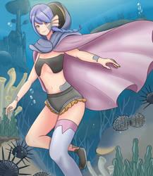 Sea Urchin by Sikyll