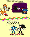 Tails Feeling Cheeky...