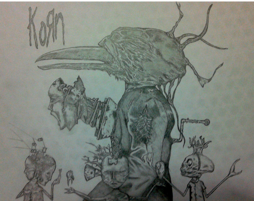MY UNTITLED(KORN) COVER DRAWING by FuatK on DeviantArt