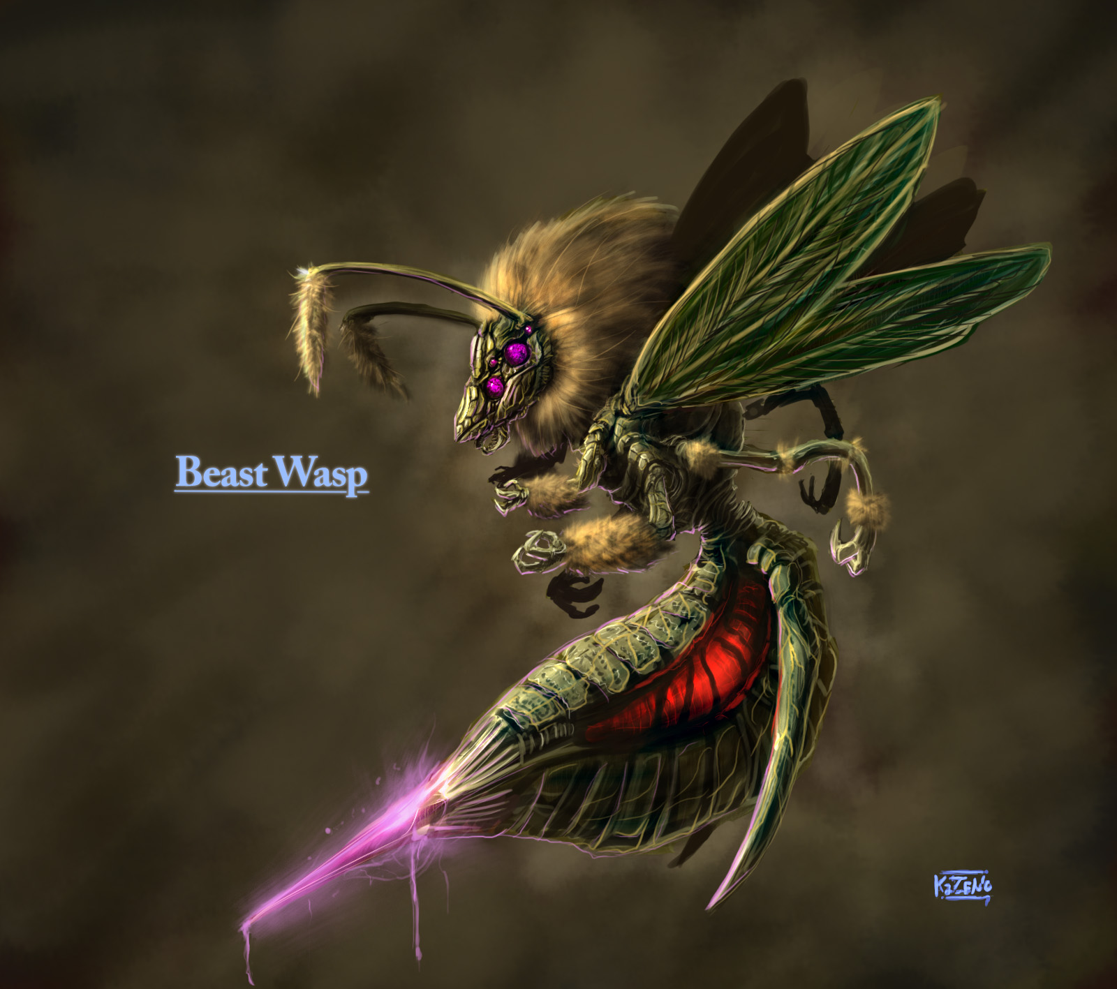 Beast Wasp by PenName-Kazeno on DeviantArt