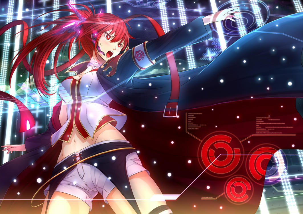 Vocaloid 'CUL' Fanart by PenName-Kazeno