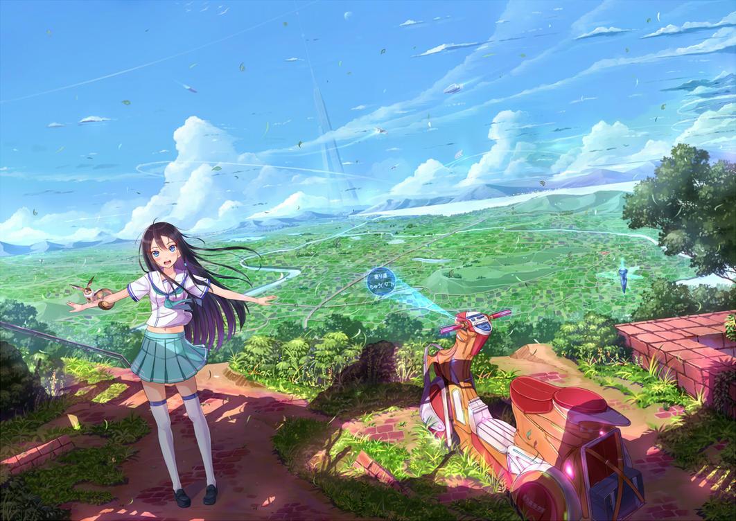 Peacefulness to you by PenName-Kazeno