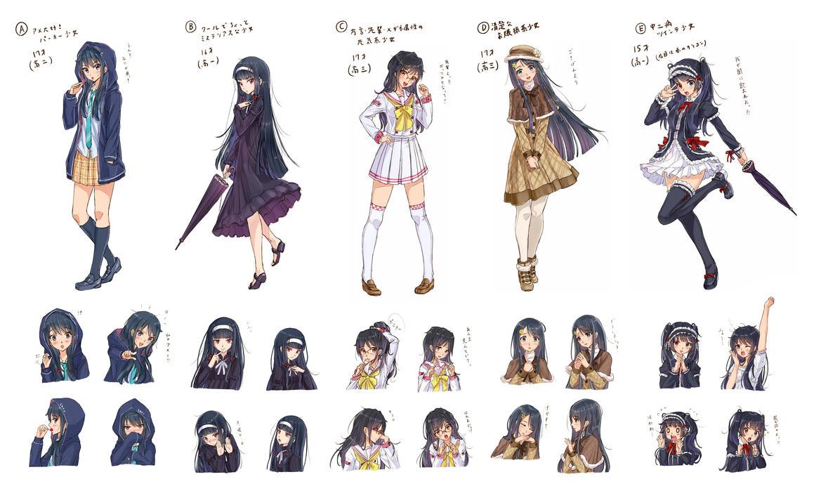 Which girl do you like? by PenName-Kazeno