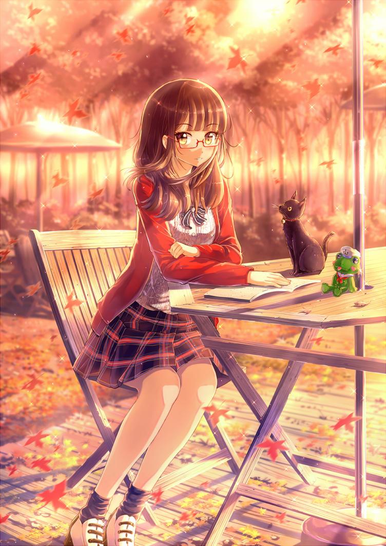 Autumn Girl by PenName-Kazeno