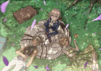 VioletEvergarden_fanart3 by PenName-Kazeno