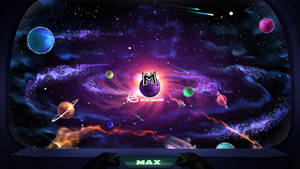Space Background for Max by Lukart96