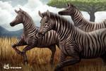 Zebra artwork by Lukart96