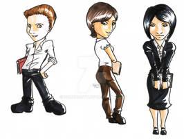 Caricatures: My bosses
