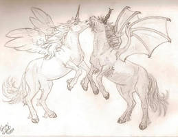 Unicorns by IchliebeLouis
