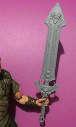 Spawn Claymore Sword 1/10 Scale Figures