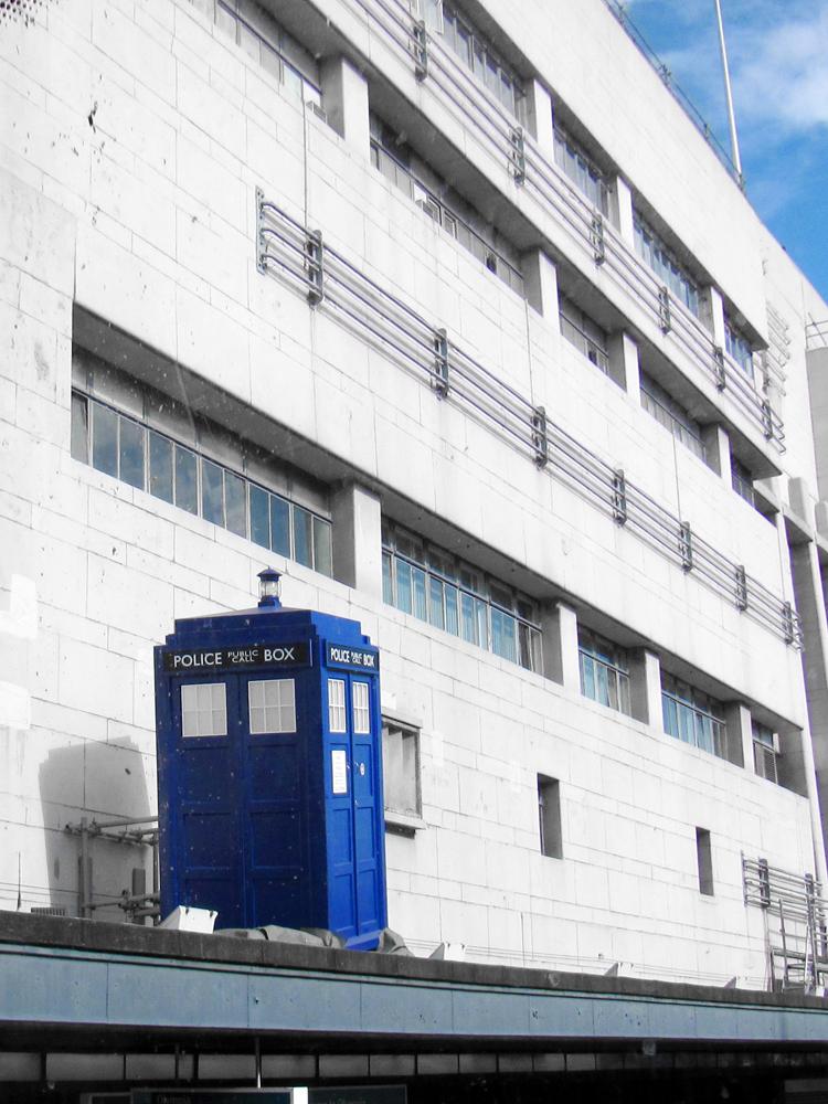 London 2011 - TARDIS by evionn