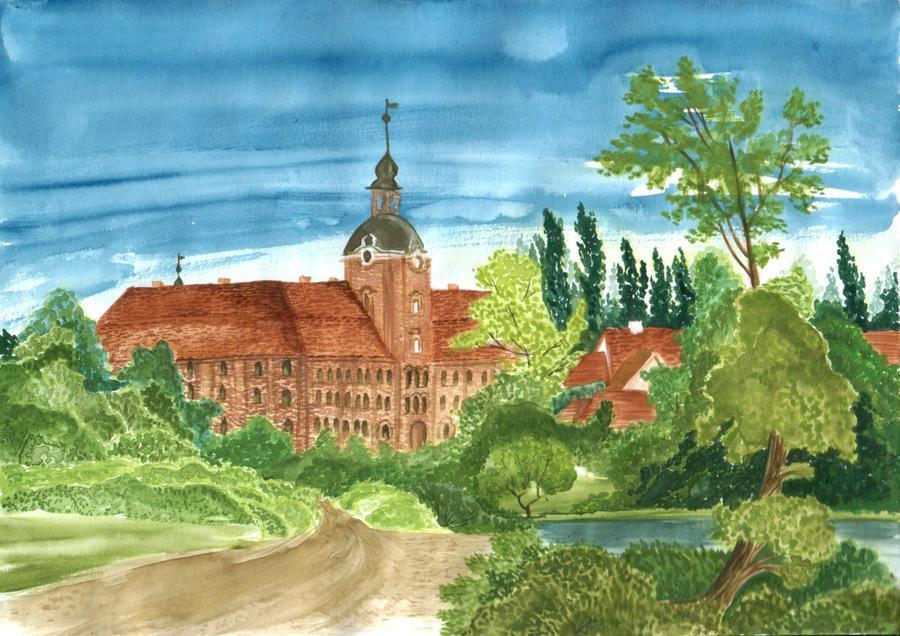 Schloss Lieberose by evionn