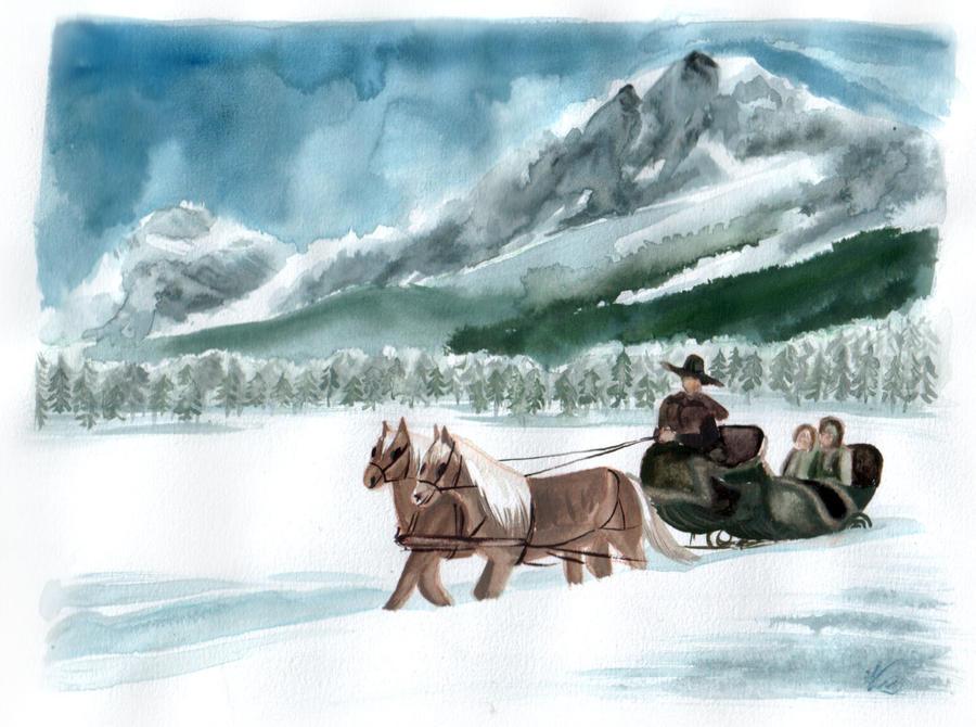 Sleigh Ride by evionn