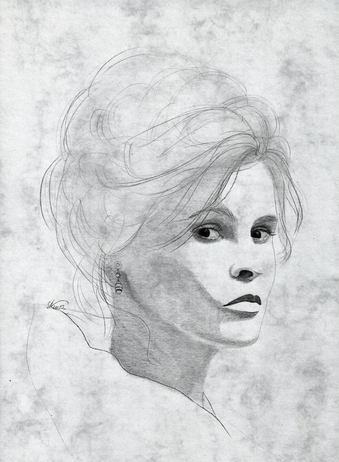 Helena Bonham Carter by evionn
