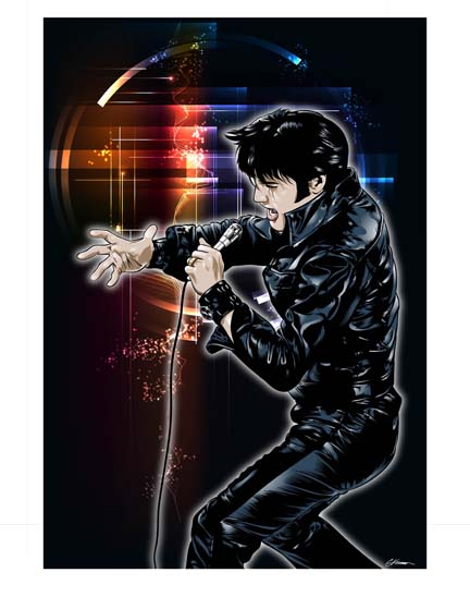 Elvis by rawclips