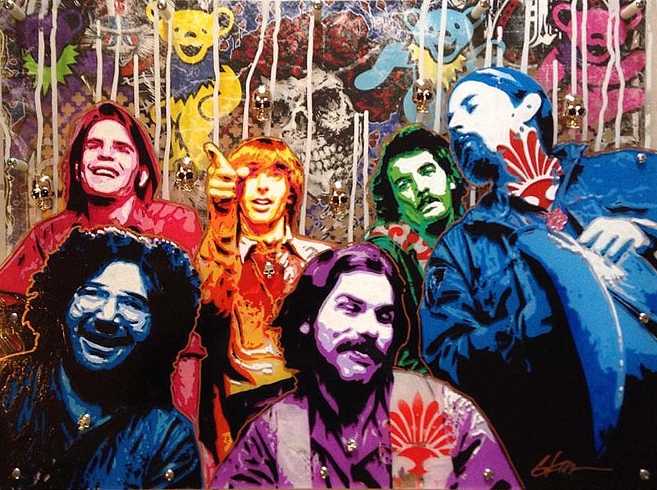 Grateful Dead by rawclips