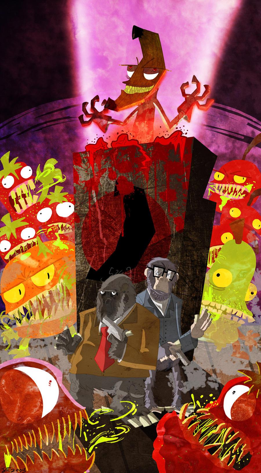 Ape inspectors vs Dr. Banana by DoctorJT