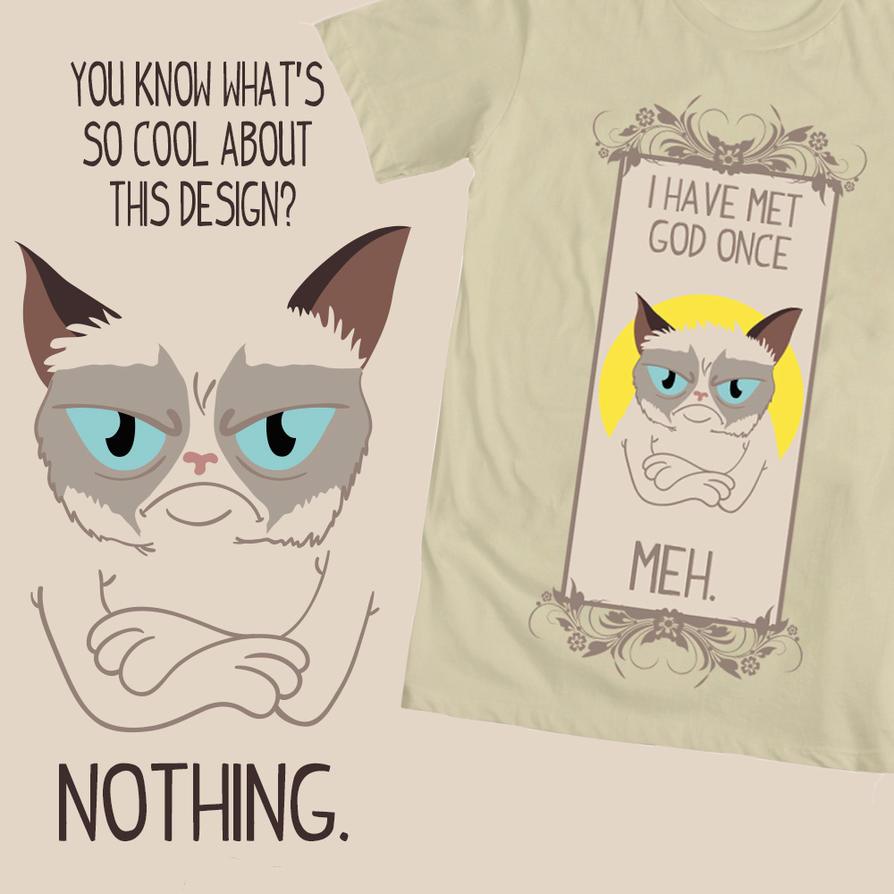 Grumpy Cat T Shirt Design By Doctorjt On Deviantart