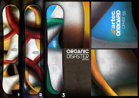Snowboard: Organic Disaster by B3Ns
