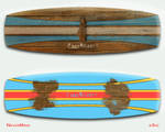NeverMind Kite Board by B3Ns
