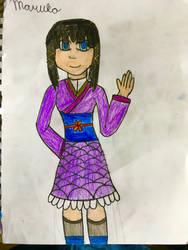 Maruko the Aasimar Ninja - Redesigned by MasterJiggywiggy